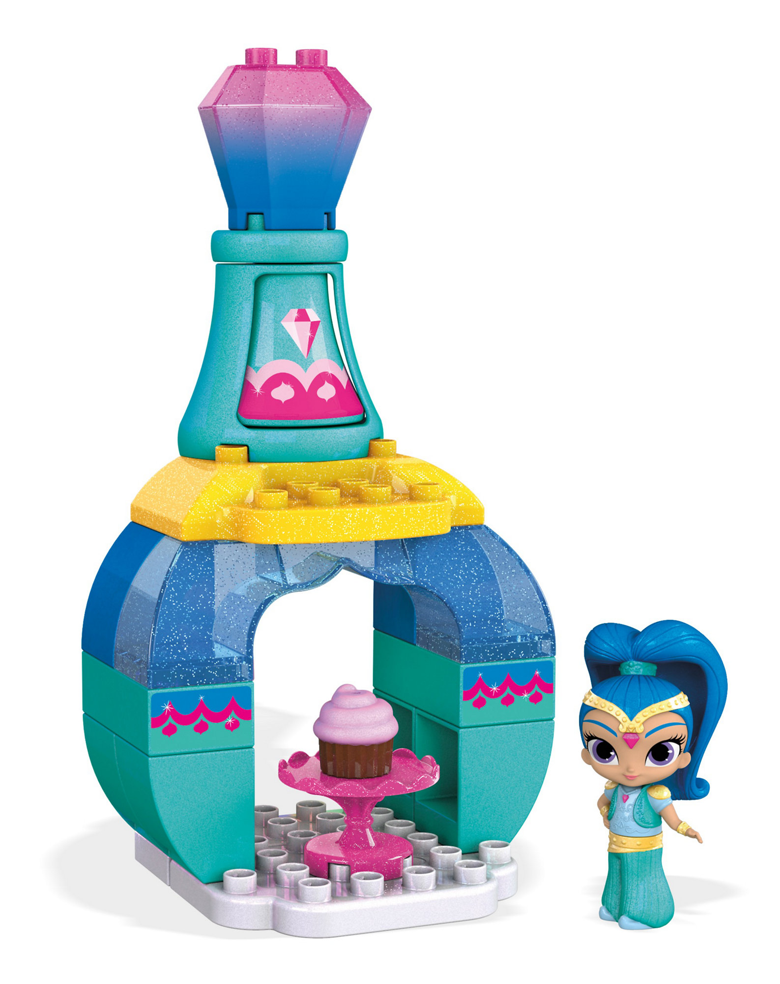 Mega Bloks Nickelodeon Shimmer and Shine, Cupcake Palace by Mega Brands, Inc.