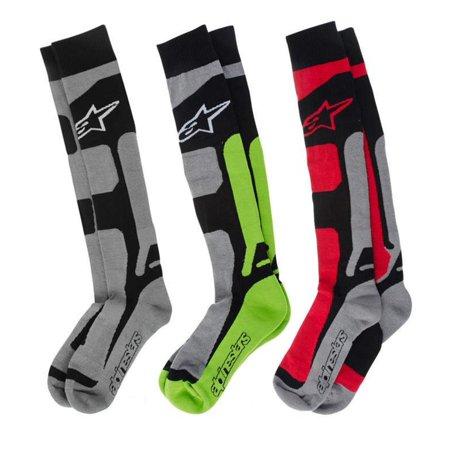 Alpinestars Tech Coolmax Socks (Red, Small - (Alpinestars Socks)