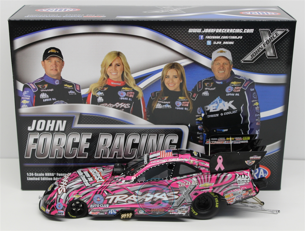 Courtney Force 2015 Traxxas Pink 1:24 NHRA Diecast by Lionel Racing