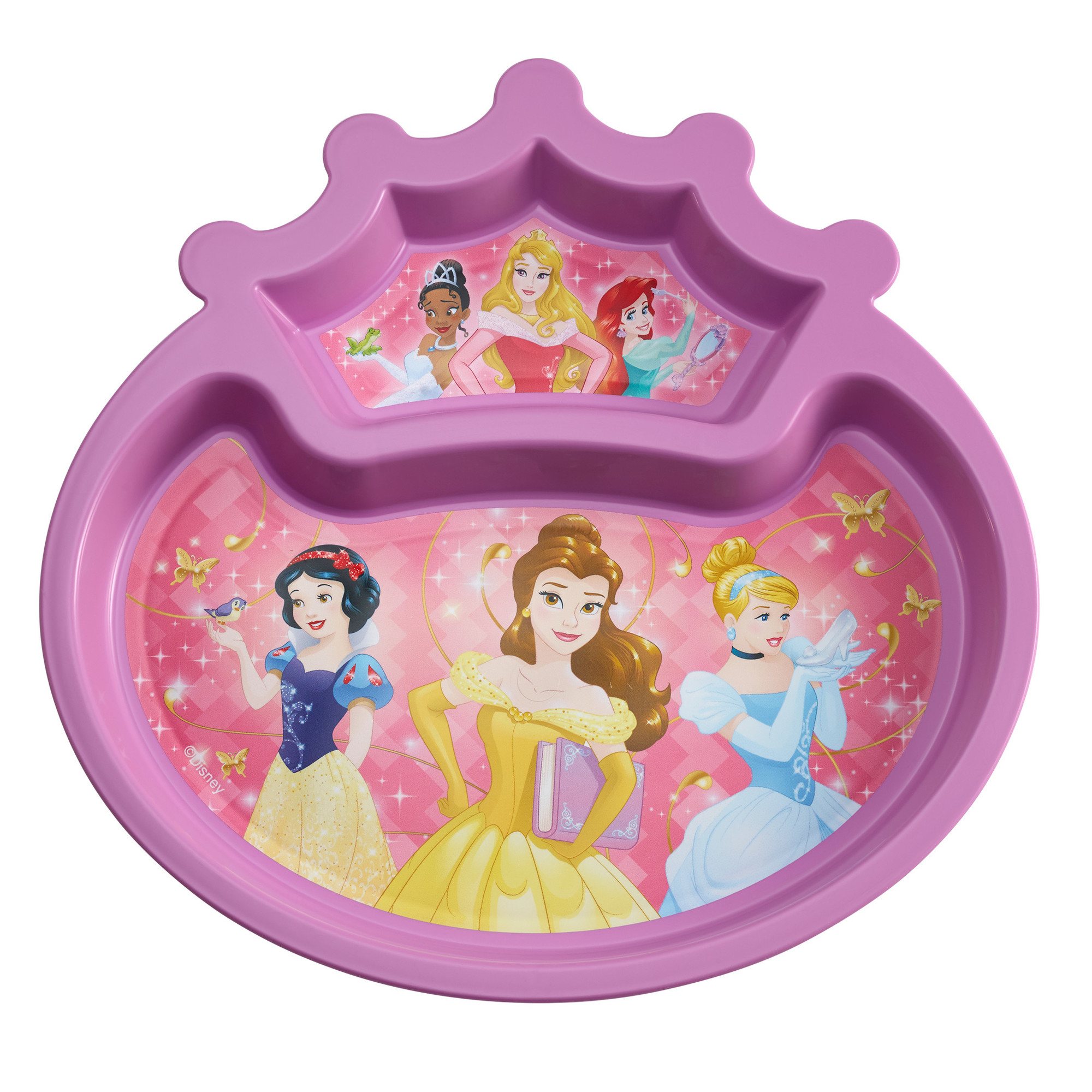 The First Years Disney Princess Sectioned Plate, BPA-Free