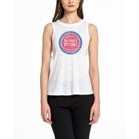 Detroit Pistons Concepts Sport Women's Infuse Knit Tank Top - White