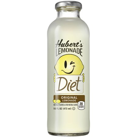 Hubert's Diet Original Lemonade, 16 Fl. Oz. (Lemonade Bar)