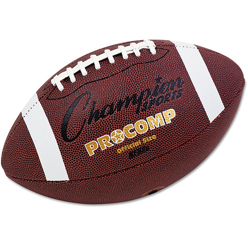 Champion Sports Pro Composite Football, Official Size, 22\ by CHAMPION SPORT