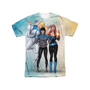 Harbinger - Gals Sub (Front/Back Print) - Short Sleeve Shirt - XXX-Large