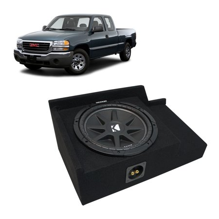 1999-2006 GMC Sierra Ext Cab Truck Kicker Comp C12 Single 12