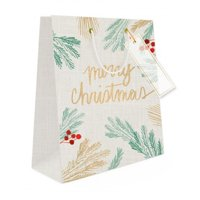 Mara-Mi Merry Christmas Medium Gift Bag