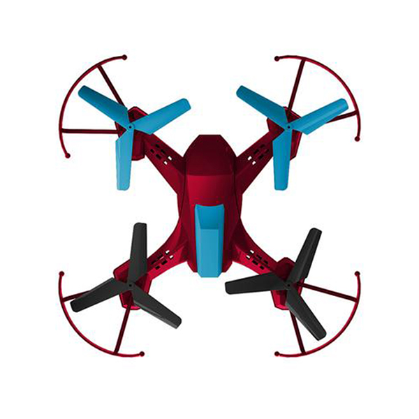 Alta Divebomb Battle Quadcopter Rechargeable Drone & 2.4GHZ Remote Control Red by ALTA