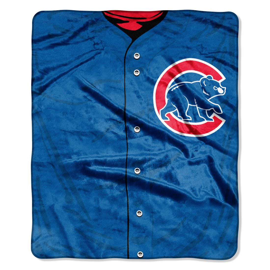 "Chicago Cubs 50""x60"" Royal Plush Raschel Throw Blanket - Jer"
