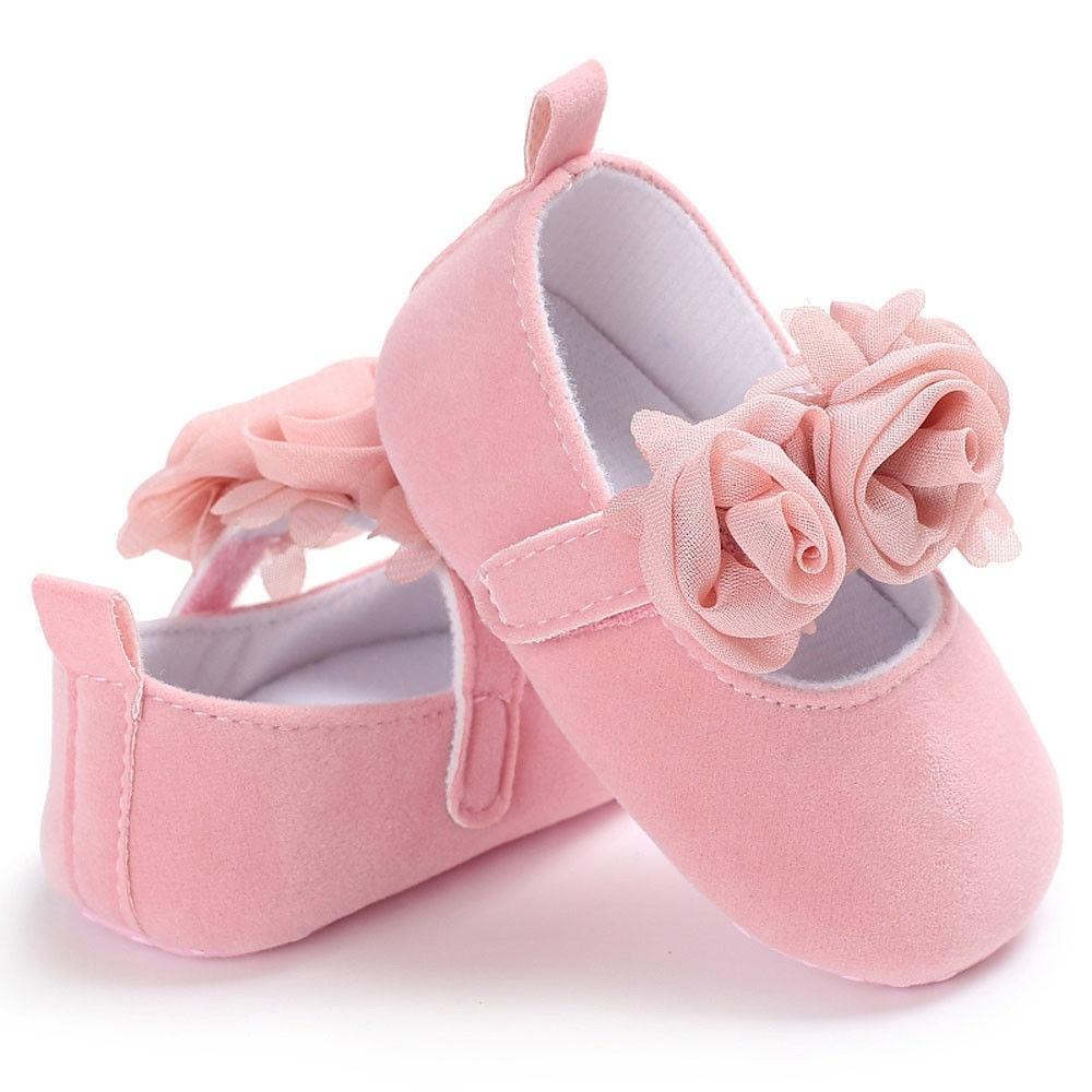 Anti-slip Baby Newborn Crib Shoes Prewalker Sole Sneakers Toddler Girl Pram Soft