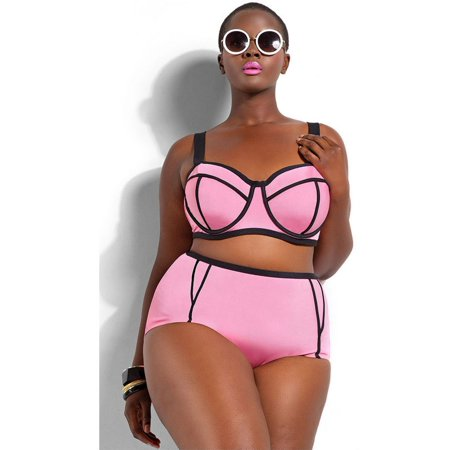 17d6dae0e6d5 Senfloco - Senfloco Women's High Waist Plus Size Swimwear 2-Piece Bikini  Set Bathing Suit with Shoulder Straps, XL-4XL - Walmart.com