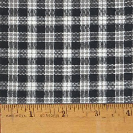 Mountain Lodge 2 Plaid Homespun Cotton Fabric Sold by the Yard - JCS Fabric