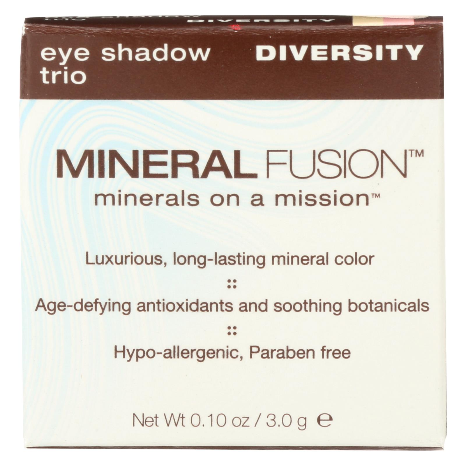 Eye Shadow Trio Diversity by mineral fusion #6