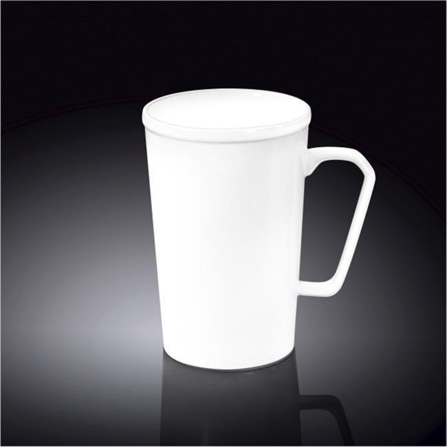 Wilmax 993089 420 ml Mug, White - Pack of 48