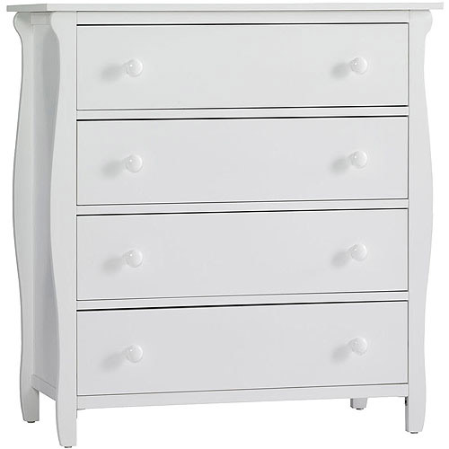 Graco Stanton 4-Drawer Dresser, Classic White