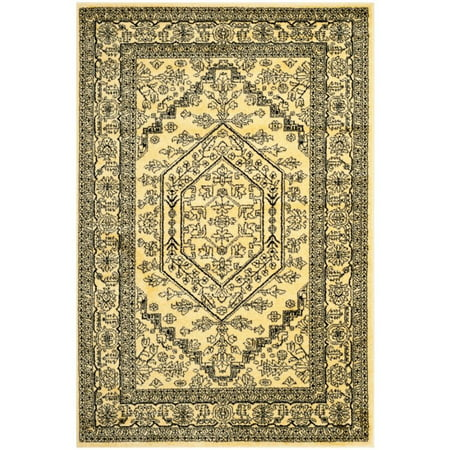 """Safavieh Adirondack 2'6"""" X 10' Power Loomed Rug in Gold and Black - image 1 of 1"""