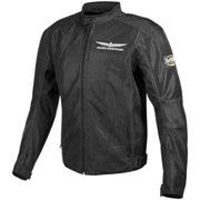 Parker Synergies Gold Wing Touring Mens Mesh Jacket Black