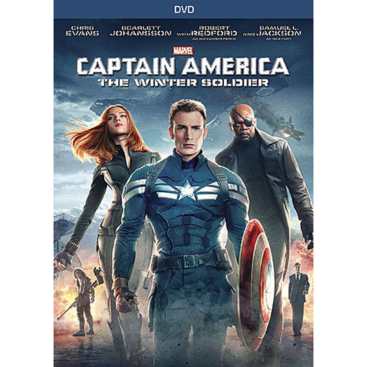 Captain America: The Winter Soldier (DVD) by BUENA VISTA HOME ENTERTAIMENT