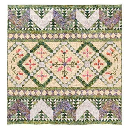 Peace Seeker Quilt Pattern by Lizard Creek Quilting (Purse Quilting Pattern)
