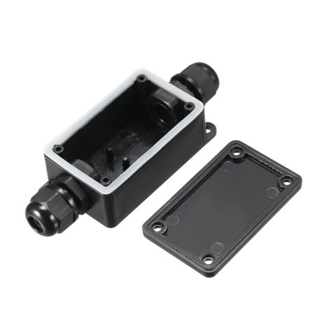 Waterproof IP66 Outdoor Electrical 2-Way PG9 Cable Gland Electrical Junction Box with Terminal (Electrical Junction Blocks)