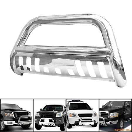 Yosoo Bull Bar Grille Guard Front Bumper For Ford F150 /250LD 2WD 4WD Super Crew Expedition 4WD Black Ford F150 Bull Bar