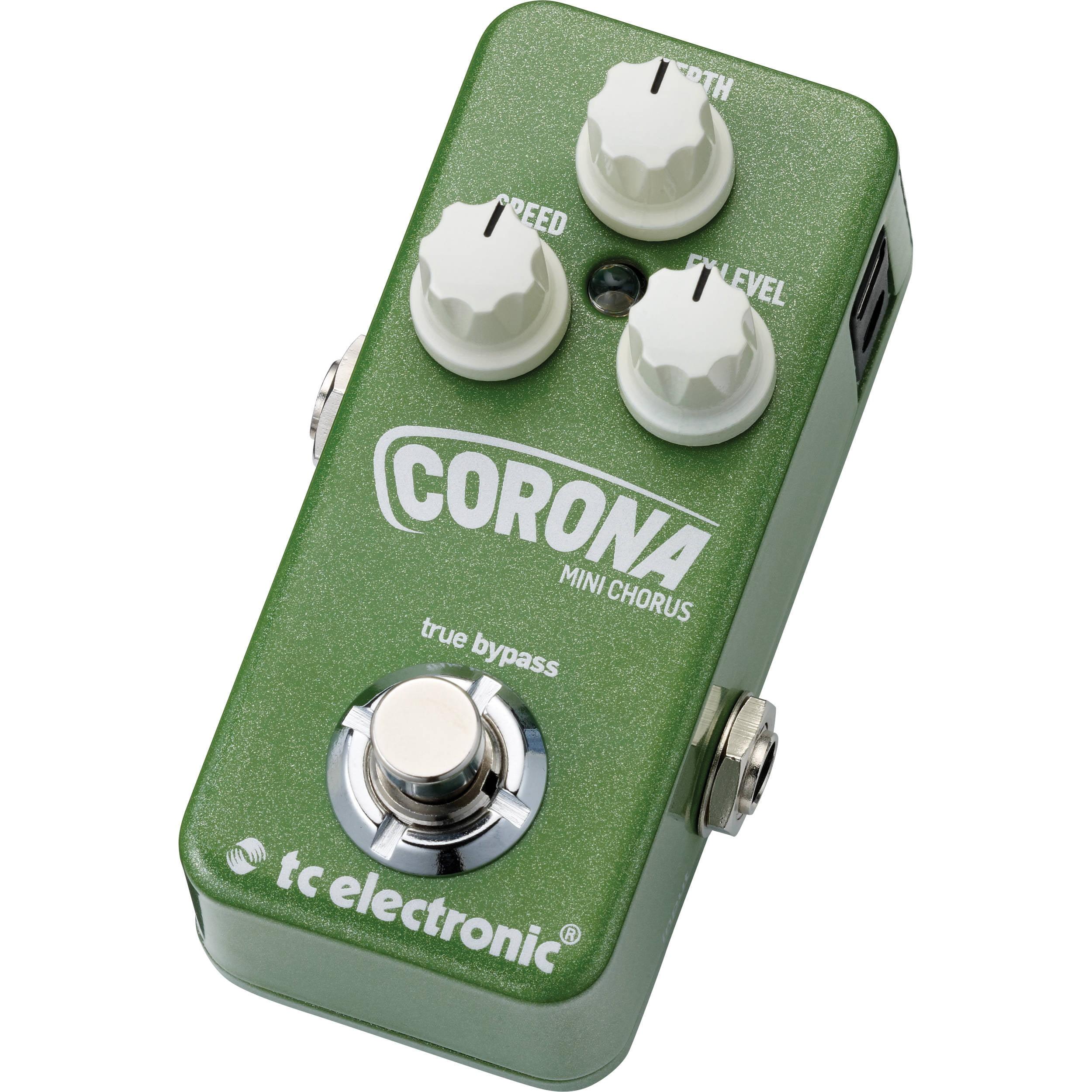 TC Electronic Corona Mini Chorus Guitar Effects Pedal 960807001 by TC Electronic