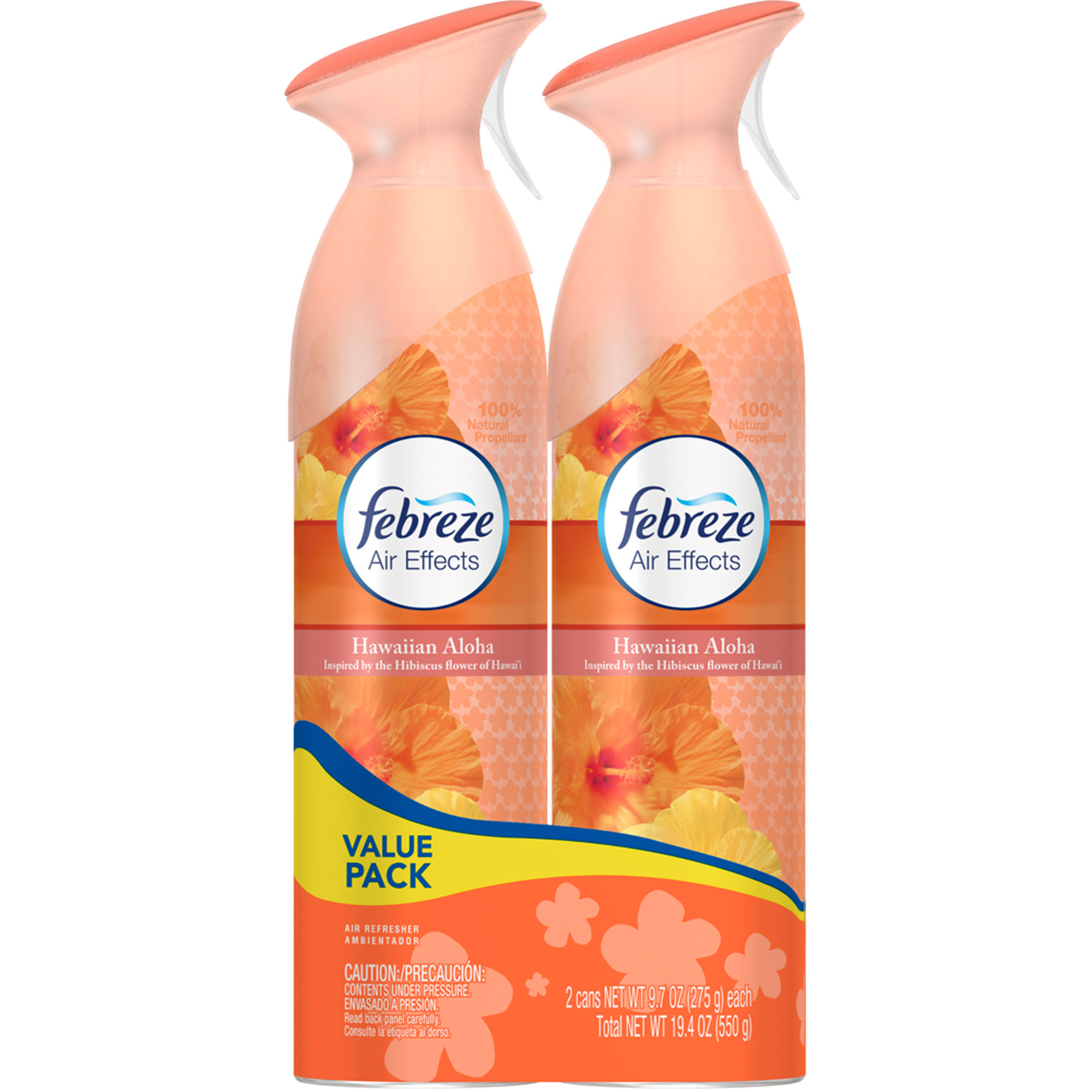 Febreze Air Effects Hawaiian Aloha Air Freshener, 9.7 oz, 2 count