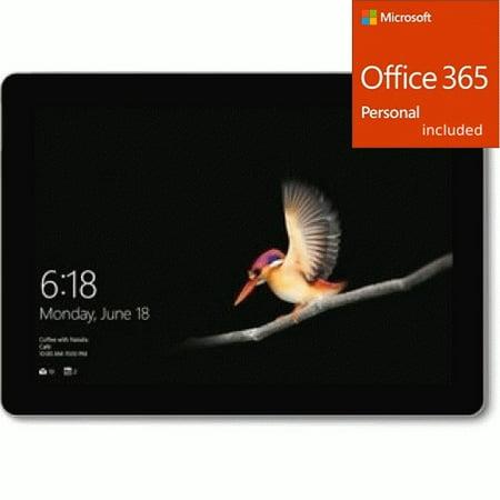 "Microsoft Surface Go 10"" Intel Pentium Gold 4GB RAM 64GB SSD + Office 365 Bundle"