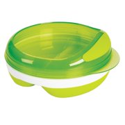 OXO Tot Divided Feeding Dish with Removable Ring - Green
