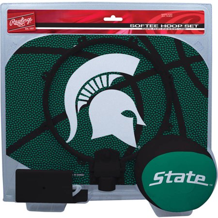 Michigan State Spartans Basketball - Rawlings NCAA Slam Dunk Softee Hoop Set Michigan State University Spartans
