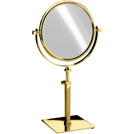 AGM Home Store Elegant Square Table Top Double Sided Cosmetic Makeup Magnifying Mirror - Square Up Store