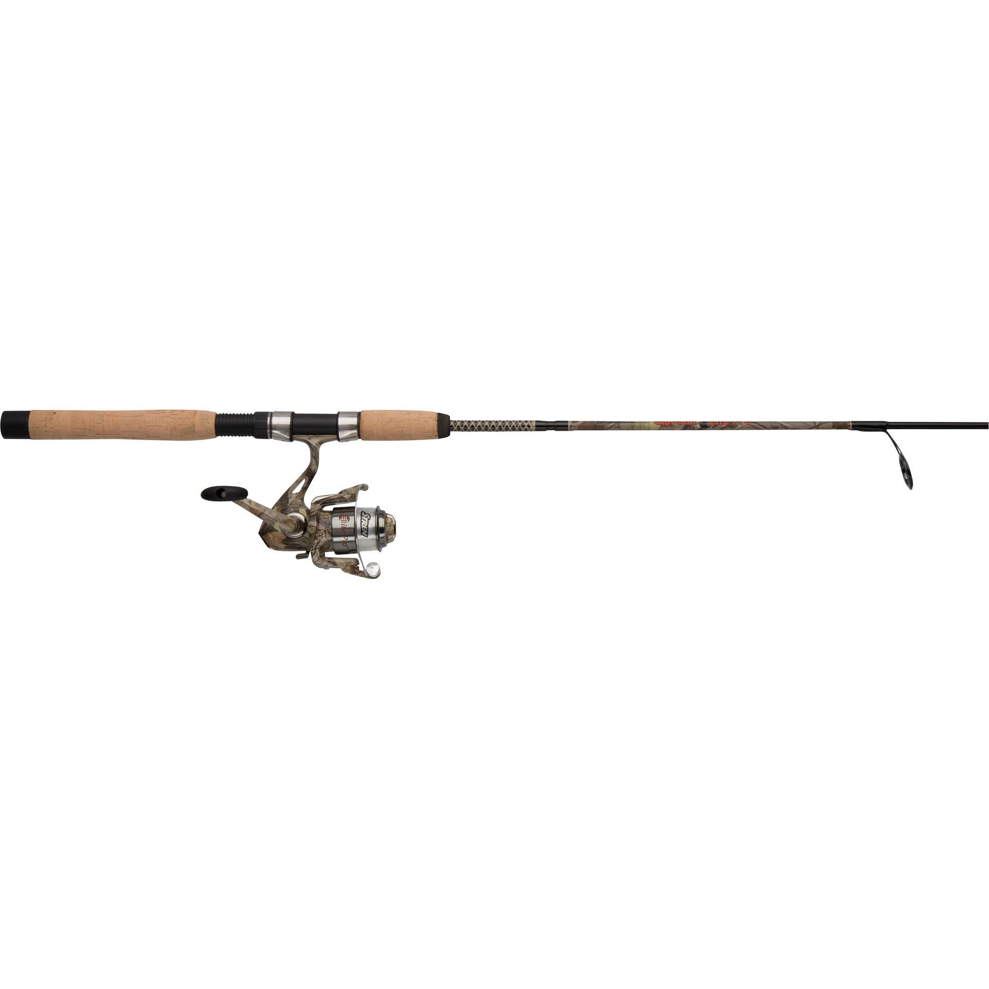 Click here to buy Shakespeare Ugly Stik Camo Spinning Reel and Fishing Rod Combo by Shakespeare.