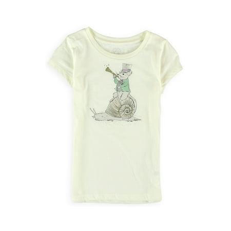 Aeropostale Girls Mouse Ringmaster Graphic T-Shirt (Ringmaster Girls)