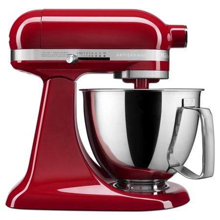 Kitchenaid Artisan Mini 3 5 Quart Tilt Head Stand Mixer Empire Red Ksm3316xer