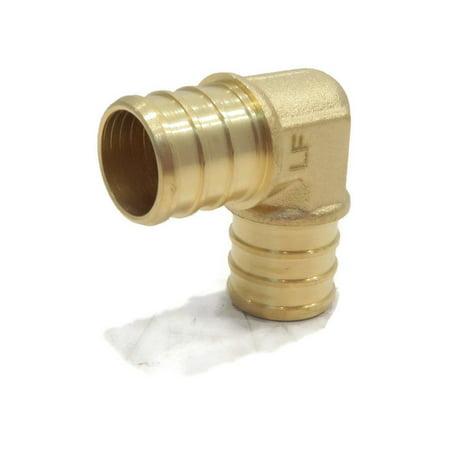 Pex Brass Elbow ((6) 3/4