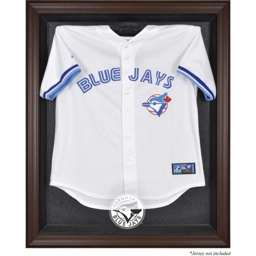 Toronto Blue Jays Fanatics Authentic Brown Framed Logo Jersey Display Case - No Size
