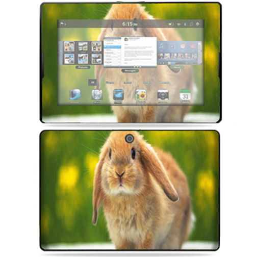 "Mightyskins Protective Vinyl Skin Decal Cover for Blackberry Playbook Tablet 7"" LCD WiFi wrap sticker skins - Rabbit"