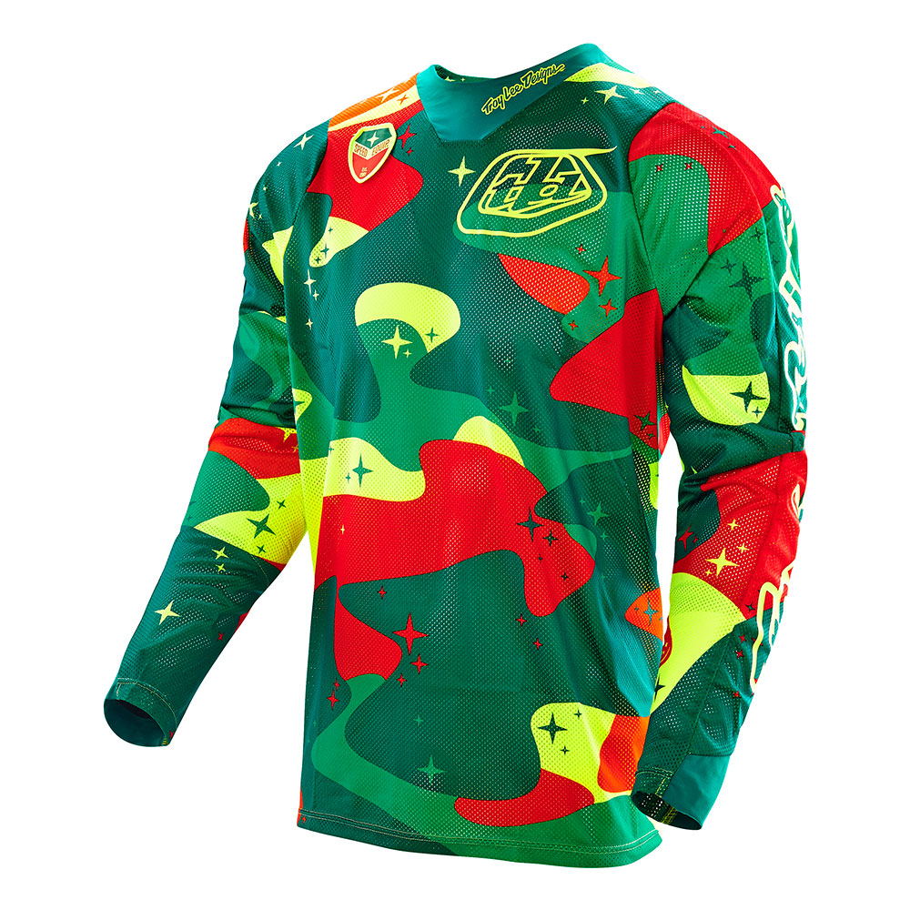 Troy Lee Designs Men's Cosmic Camo Air Jersey
