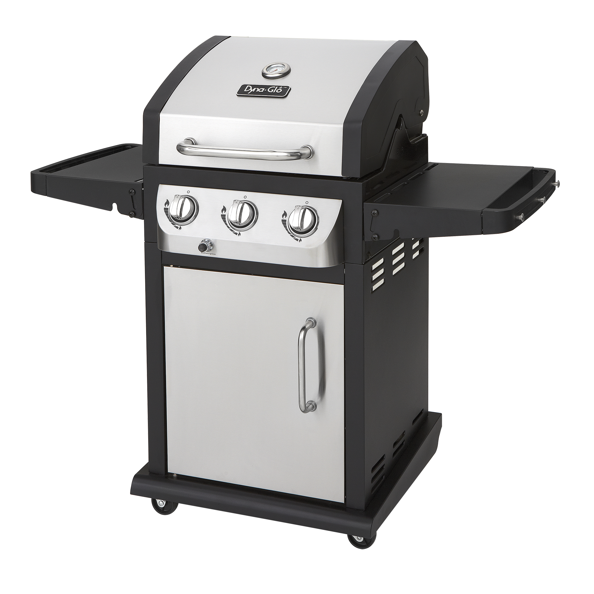 Dyna-Glo DGB390SNP-D Smart Space Living 3 Burner Gas Grill