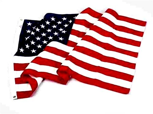 5 x 8 Foot Large Nylon US American Flag, Have Pride in your country; decorate...
