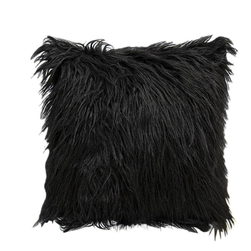 """Tommyfit Soft Fluffy Fur Solid Color Square Home Decor Throw Pillow Case Cushion Cover 45*45cm/18""""*18"""""""