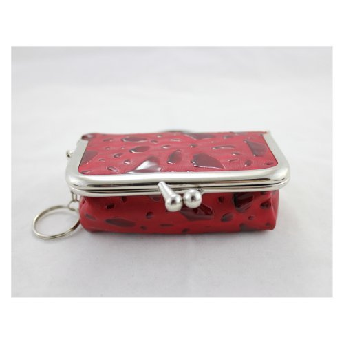 Rectangle Locket Jewelry Travel Case - Red - 4L x 2.6W in.