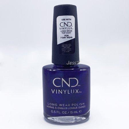 CND Vinylux Nail Polish Crystal Alchemy Collection #332 Sassy Sapphire 0.5 oz Crystal Nail Polish