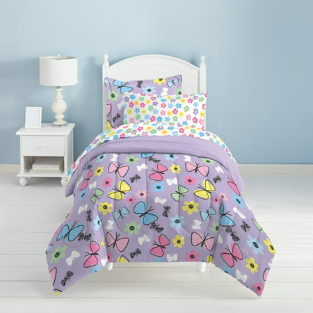 Full/Queen Sweet Butterfly Mini Bed in a Bag - Dream Factory