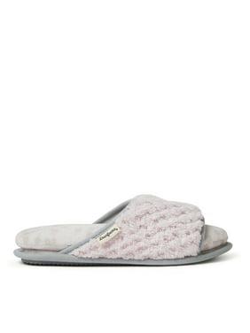 adc2cc560 Product Image Dearfoams Womens Jenny Cloud Step Slide slippers