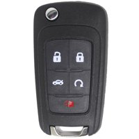 Keyless2Go New Keyless Remote 5 Button Flip Car Key Fob Select Impala Malibu Camaro Cruze Equinox And Other Vehicles That Use FCC OHT01060512