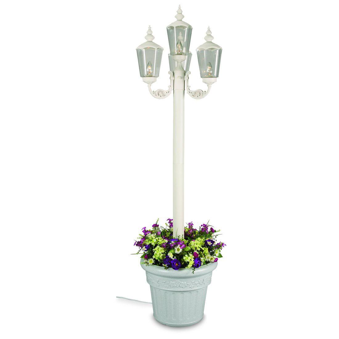 Patio Living Concepts Cambridge 00431 85 Inch Four Lantern Planter - Park Style