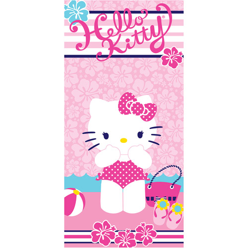 "Hello Kitty ""Day Of Play"" 28"" x 58"" Licensed Beach Towel"