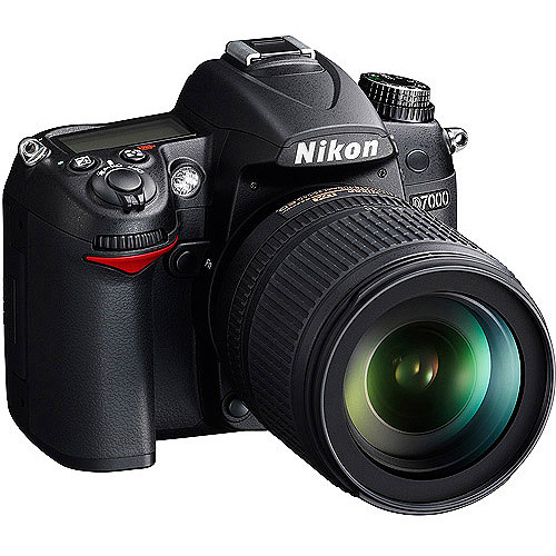 "Nikon D7000 16.2MP DSLR Camera with 18-105mm VR Nikkor Lens, 3"" LCD, HD Video"