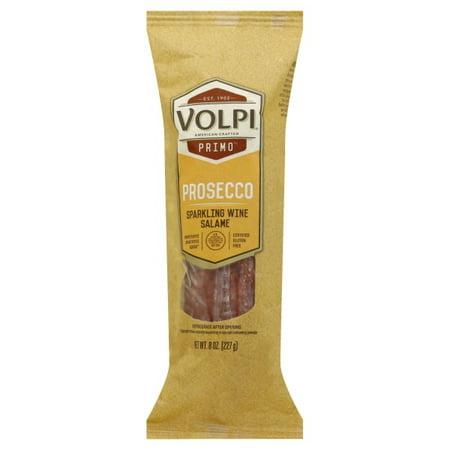 Volpi Prosecco Sparkling Wine Salami - 8oz. (Veneto Prosecco Nv Sparkling Wine)