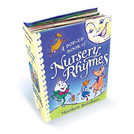 A Pop-Up Book of Nursery Rhymes A Classic Collectible Pop-Up By Matthew Reinhart - image 1 of 2